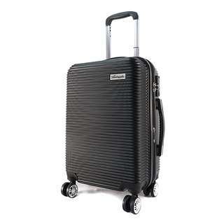 Travelsupplies 20 Inch Anti Theft Luggage with TSA Lock-Black
