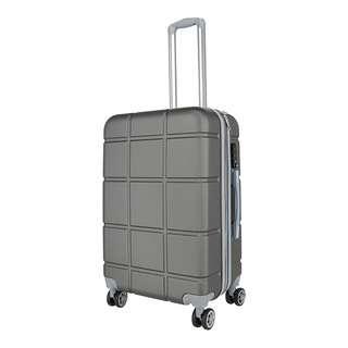 World Polo 28 Inch Expandable Luggage with TSA Lock - Grey