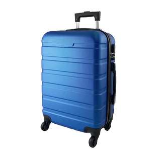 World Polo 24 Inch ABS Expandable Luggage - Blue