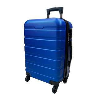 World Polo 20 Inch ABS Expandable Luggage - Blue