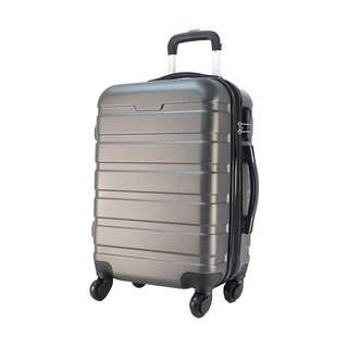 World Polo 20 Inch ABS Expandable Luggage - Grey