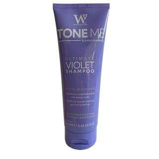 Watermans Tone Me Blonde Me Toning Purple Shampoo