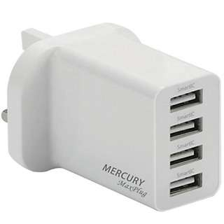 GadgetMix 4 Usb Fast Charge Power Adapte
