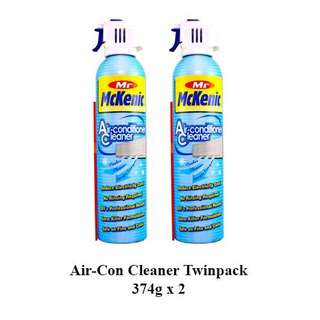 Mr McKenic Twin Pack 2 Air-con Cleaner