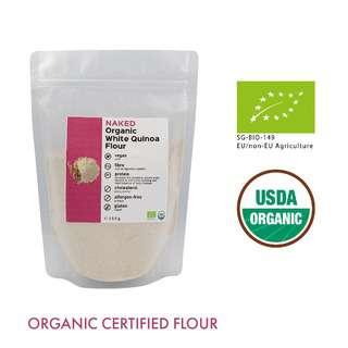 Naked Organic White Quinoa Flour