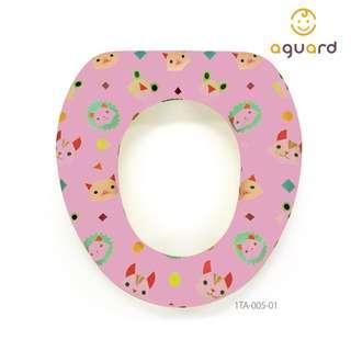 AGUARD Animals Kids Toilet Seat - Pink