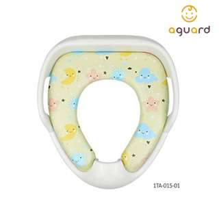 AGUARD Toilet Seat Cover w/Handle - Yellow