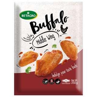 Betagro Buffalo Middle Wings