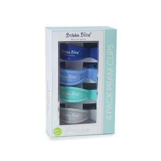 Bubba Blue Pram Clips - Boy Pack