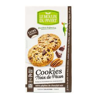 Le Moulin Du Pivert Chocolate Chips Cookies with Pecan Nuts