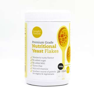 Simply Natural Premium Grade Nutritional Yeast Flakes