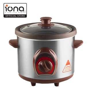 IONA 1L Purple Clay Auto Slow Cooker GLSC150