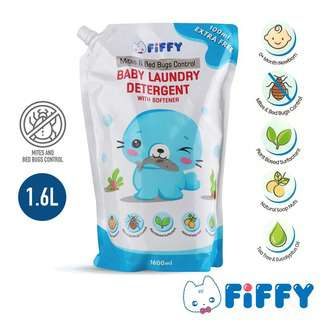 Fiffy Baby Laundry Detergent Anti Mites & Bed Bugs Refill Pac