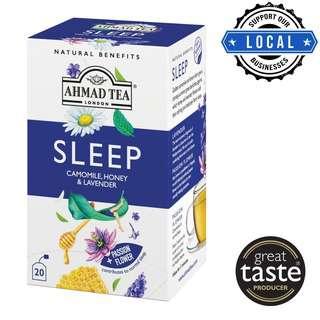 Ahmad Tea Natural Benefits Sleep Infusion 20's Foil Teabags
