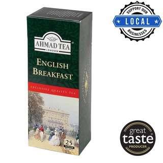 Ahmad Tea English Breakfast Tagged 25'sTeabags