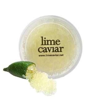 Lime Caviar Australian Finger Pearls - Chartreuse (Frozen)