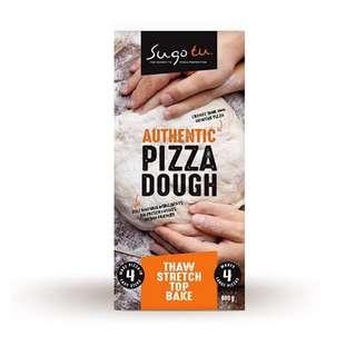 Sugo Tu Pizza Dough - 4 in Pack (Frozen)
