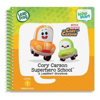 LeapFrog Leapstart Book - Cory Carson Superhero School
