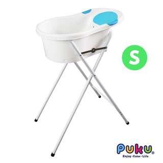 Puku Puku Baby Bath Tub with Stand S - Blue