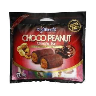 Mybizcuit Chocolate Peanut Crunchy Bar