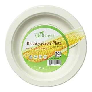 BIOGREEN BD-9inch Plate 20s