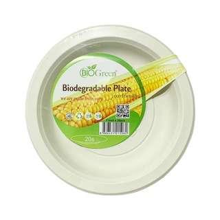 BIOGREEN BD-7inch Plate 20s