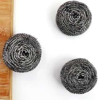 No Brand 6pcs Stainless steel ball sponge