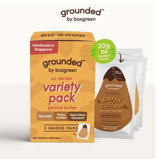 Grounded Nut Butter Variety Pack