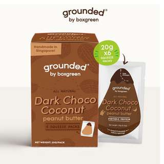 Grounded Dark Choco Coconut Peanut Butter