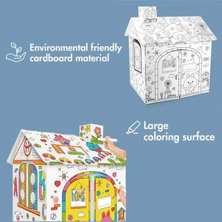 TOCAR Country House Kids Cardboard Craft