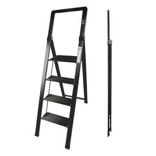 HOUZE 4 Tier 'SLIM' Aluminium Ladder