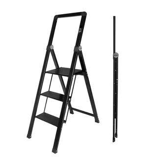 HOUZE 3 Tier 'SLIM' Aluminium Ladder