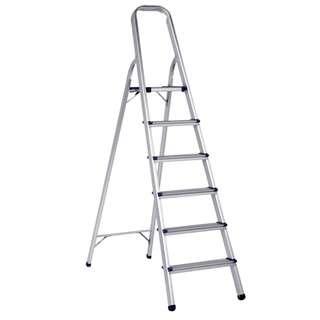 HOUZE Aluminium 6 Tier Ladder