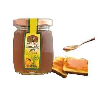 Little Bee Organic Raw Honey 125
