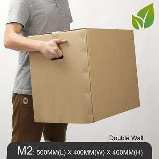 MillionParcel Moving Box M2: L500 x W400 x H400 mm