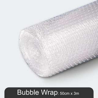 MillionParcel (Small Roll) Bubble Wrap 50cm x 3m