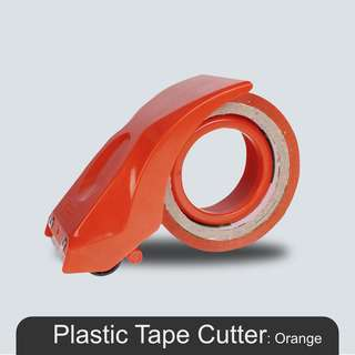 MillionParcel Metal Tape Dispenser 8051 - Orange
