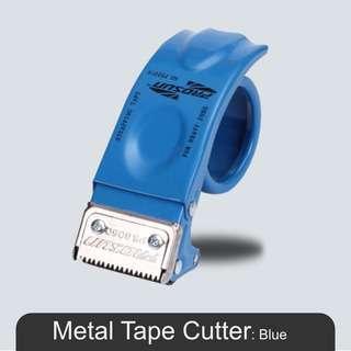 MillionParcel Metal Tape Dispenser 8050 - Blue