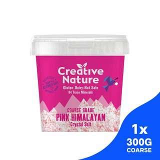 Creative Nature Himalayan Crystal Salt Coarse