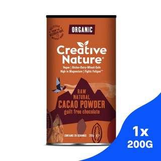 Creative Nature Organic Cacao Powder