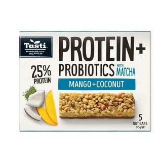 Tasti Protein + Probiotics Mango and Coconut with Matcha