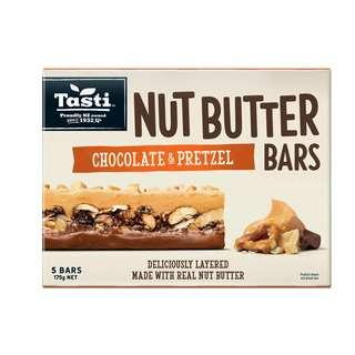 Tasti Nut Peanut Butter Chocolate and Pretzel