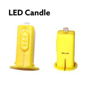 Partyforte Multi Color LED Candles