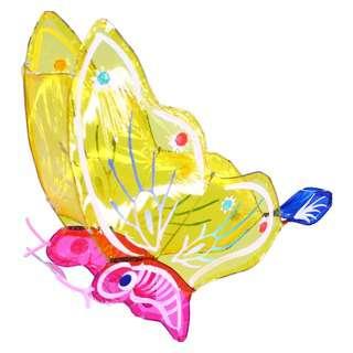 Partyforte Butterfly Cellophane Lantern