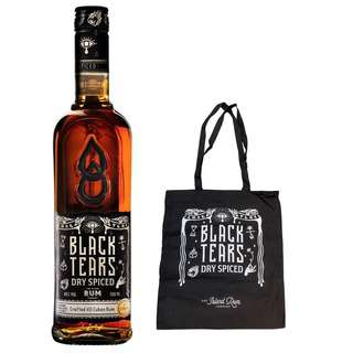 Black Tears Spiced Rum (FREE Limited Ed Black Tears Tote Bag)