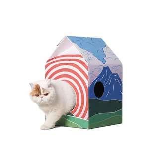 Pidan Cat Hut Scratcher - Mt. Fuji