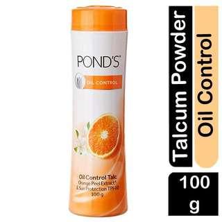 POND'S Orange Peel Extract Sun Protection Talcum Powder