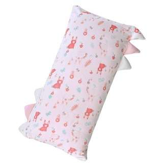 No Brand Pink Baby pillow bamboo soft huggable bolster