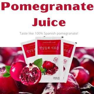 Korean 100% Pomegranate Juice