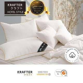 KRAFTER Cumulus Hotel Pillow (Silky Fibercell)